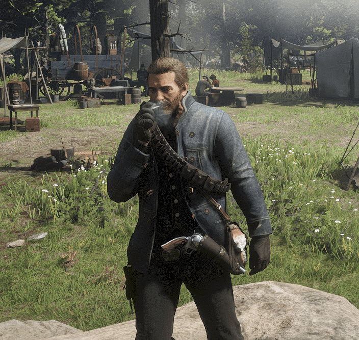 early chapter  scout jacket red dead redemption  mods